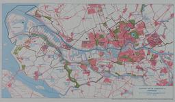 1979-371 Overzichtskaart van de gemeenten in het Rijnmondgebied