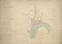 1979-701 Kaart van Rotterdam met een overzicht van de kadastrale secties A t/m O (14 secties)