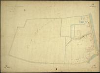 1979-707 Kadastrale kaart van Rotterdam, sectie B, tweede blad. Het afgebeelde gebied (West-Blommersdijk) wordt ...