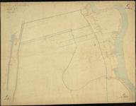 1979-712 Kadastrale kaart van Rotterdam, sectie C, eerste blad. Het afgebeelde gebied omvat een deel van de ...