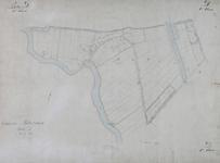 1979-714 Kadastrale kaart van Rotterdam, sectie D, eerste blad. Het afgebeelde gebied omvat een deel van de polder ...