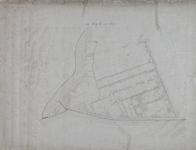 1979-716 Plattegrond van de wijk Rubroek. Het afgebeelde gebied wordt begrensd door de Stadsvest (Goudschesingel), de ...