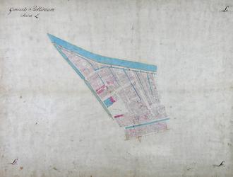 1979-727 Kadastrale kaart van Rotterdam, sectie L. Het afgebeelde gebied wordt begrensd door de Botersloot, Hoogstraat, ...