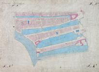 1979-737 Kadastrale kaart van Rotterdam, sectie F en N. Het afgebeelde gebied wordt begrensd door de Hoogstraat, ...