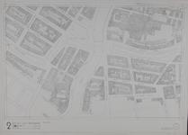 1980-13 Kaart van de binnenstad van Rotterdam, bestaande uit 20 bladen. Blad 2 Noordplein en omgeving.
