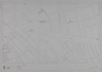 1980-17 Kaart van de binnenstad van Rotterdam, bestaande uit 20 bladen. Blad 6 de Goudsesingel en de Jonker Fransstraat