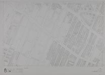 1980-19 Kaart van de binnenstad van Rotterdam, bestaande uit 20 bladen. Blad 8 de Nieuwe Plantage en de Lusthofstraat