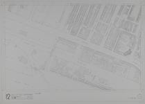 1980-23 Kaart van de binnenstad van Rotterdam, bestaande uit 20 bladen. Blad 12 de Oostzeedijk en het Buizengat