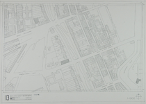 1980-24 Kaart van de binnenstad van Rotterdam, bestaande uit 20 bladen. Blad 13 de Westersingel en de Witte de Withstraat