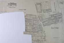 1980-252 Kadastrale kaart van Delfshaven, sectie D. Het afgebeelde gebied bevat de Duivenvoordestraat en ...
