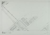 1980-26 Kaart van de binnenstad van Rotterdam, bestaande uit 20 bladen. Blad 15 een deel van het Noordereiland