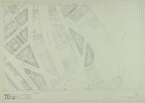 1980-31 Kaart van de binnenstad van Rotterdam, bestaande uit 20 bladen. Blad 20 de Nassauhaven en omgeving