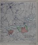 1980-357 Kaart met de grenzen van de deelgemeenten Hoogvliet en Charlois en de voormalige gemeentegrenzen