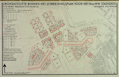1980-383 Plattegrond van het uitbreidingsplan Blijdorp