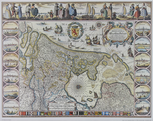 1980-4096 Kaart van het Graafschap Holland [facsimile]