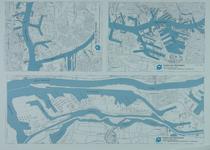 1981-230-240-410 Kaarten van de Waalhaven en de Eemhaven, de 1e en 2e Petroleumhaven en het Europoortgebied