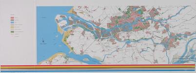1981-231 Overzichtskaart van Rotterdam en omgeving ten behoeve van de milieu-effectrapportage (MER) berging baggerspecie