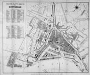1981-440 Plattegrond van Rotterdam