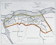 1981-5421 Kaart van de gemeente Pernis