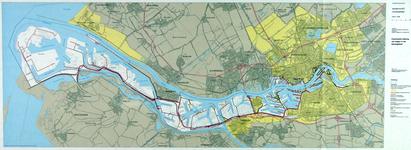 1982-3297 Kaart van Rotterdam met daarop aangegeven de functionele indeling van wegen in het havengebied