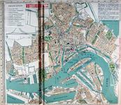 1982-449 Plattegrond van Rotterdam met de vermelding van de tramlijnen van de RETM