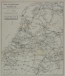 1982-880 Spoor- en Tramwegkaart van Nederland behorende bij het Nederlandsch Spoorboekje. Verso: Spoorwegkaart van Europa