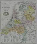 1982-881 Spoorwegkaart van Nederland
