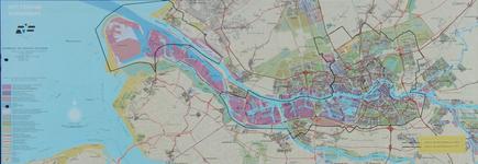 1982-960 Kaart van Rotterdam en het Europoortgebied