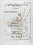 1982-973 Plattegrond van percelen aan de Walenburgerweg, Stationssingel en Spoorsingel met daarop aangegeven de ...