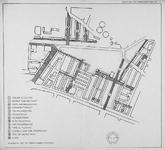 1982-987 Kaart van Kralingen-West met verwijzing naar straatnamen (I t/m XIII). Het afgebeelde gebied wordt begrensd ...