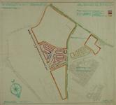 1983-900 Plattegrond van Vreewijk en omgeving met een overzicht van de gerealiseerde en geplande woningbouw. Het ...
