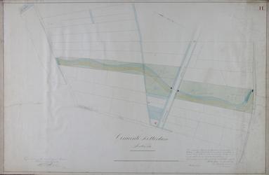 1984-1360-2 Kadastrale kaart van het gebied tussen de Kruiskade en de West-Blommersdijksche Weg [Walenburgerweg] waarop ...