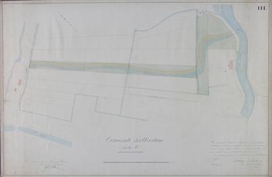 1984-1360-3 Kadastrale kaart van het gebied tussen de West-Blommersdijksche Weg [Bergweg] en de Rotte waarop het ...