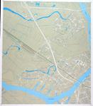 1985-51 Proceskaart bemalingsdistricten en bedienbare middelen, blad 14a: Hendrik-Ido-Ambacht en Zwijndrecht