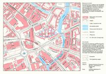 1985-57 Plattegrond van de Agniesebuurt, gelegen tussen het Noordplein en het Hofplein
