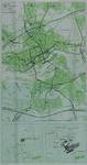 1985-983 Kaart van Rotterdam met de routes naar het Sophia Kinderziekenhuis en het ziekenhuis Dijkzigt + 2 detailkaartjes