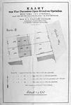 1985-999 Plattegrond van te verkopen grondpercelen aan de Goudsche Weg