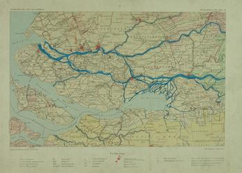 1986-1370 Kaart van Rotterdam en wijde omgeving. Het afgebeelde gebied wordt begrensd door Monster, Sint-Annaland, ...