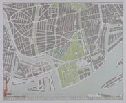 1987-2289 Kaart het uitbreidingsplan Dijkzigt