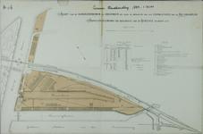 1989-2748 Plattegrond van het terrein van de Rotterdamsche Handelsvereeniging op Feijenoord