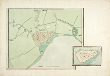 1990-1319 Rotterdam en omgeving. ( Reproduktie 6 x ) + bijlage