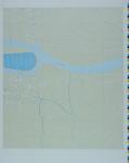 1990-255 Proceskaart bemalingsdistricten en bedienbare middelen, blad 12a: Poortugaal, Oude Maas en Oud-Beijerland