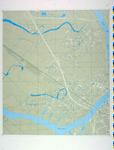 1990-259 Proceskaart bemalingsdistricten en bedienbare middelen, blad 14a: Hendrik-Ido-Ambacht en Zwijndrecht