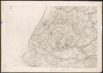 1990-46 Topografische kaart van een deel van Zuid-Holland. Het afgebeelde gebied bevat: Gouda, Den Haag, Hellevoetsluis ...