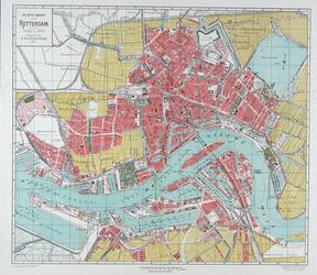 1991-1387 Plattegrond van Rotterdam