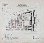 1992-3028 Plattegrond van een buurt in de Tarwewijk nabij de Katendrechtse Lagedijk. Het afgebeelde gebied bevat de ...