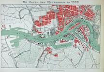 1992-5399 Kaart van de havens van Rotterdam.