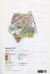 1993-2509-11 Ringband met plattegronden van de WEB-districten van de Roteb, met gegevens over de huisvuilophaaldienst, ...