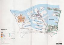 1993-2509-13 Ringband met plattegronden van de WEB-districten van de Roteb, met gegevens over de huisvuilophaaldienst, ...
