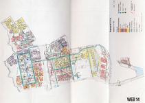 1993-2509-14 Ringband met plattegronden van de WEB-districten van de Roteb, met gegevens over de huisvuilophaaldienst, ...